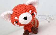 Ravelry: Rusty the Red Panda pattern by Josephine Wu