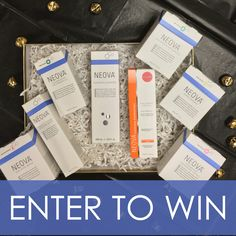 Giveaway - NEOVA Skincare Prize Package valued at $607. Enter to win at askderm.com.