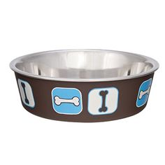 Loving Pets Cosmopolitan Bella Bowl, Small, Blue ** More info could be found at the image url.