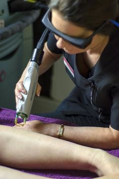 Laser Hair Removal using our Candela Gentlemax laser