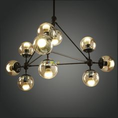 JASON MILLER MODO CHANDELIER 10 Lights PL375