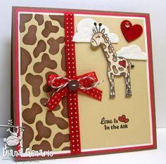 Love is in the Air - giraffe