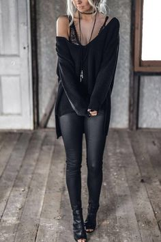 Charming Fall Street Style Outfits Inspiration to Make You Look Cool this Season Mode Outfits, Fall Outfits, Casual Outfits, Fashion Outfits, Sexy Winter Outfits, Woman Outfits, Sexy Outfits, Outfits Leggins, Sweater Outfits