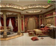עיצוב תקרה - תמונה 150 רעיונות לקישוט התקרה