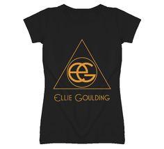 Ellie Goulding Triangle Logo bl T Shirt