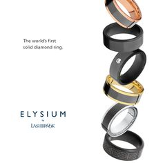 336c197b3e6 Elysium by Lashbrook says forever like non other!  Lashbrook  Diamond   Forever  Wedding  HDJ  Ring  Mens  Elysium  createyourown