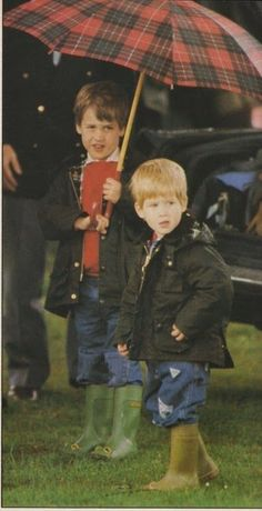 Princes William & Harry