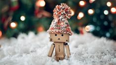 Cute Photography Graphics | White Christmas snow danbo photography cute