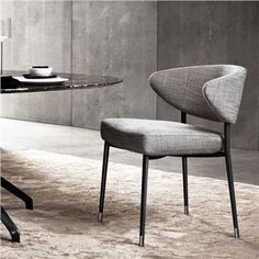 Minotti Mills Dining Chair - Style # mills, Contemporary Dining Chairs & Kitchen Bar Stools | SwitchModern