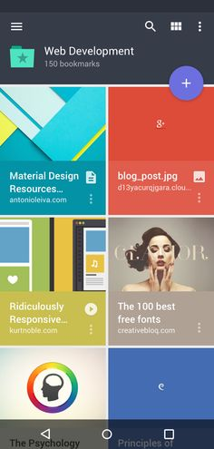 Raindrop Android app (Material design) - by Mussabekov Rustom | #ui #android