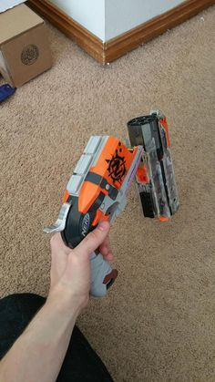 Post with 4104 views. Nerf Snipers, Pokemon Party Supplies, Modified Nerf Guns, Pistola Nerf, Nerf Storage, Cool Nerf Guns, Nerf Mod, Rifles, Super Cool Stuff