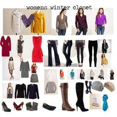 womens winter closet, created by melilott225