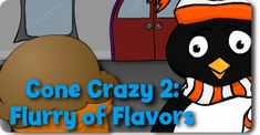 Flurry of Flavors online addition game.  There are several cute addition games here, and I like that you can choose which numbers to work on.  Fun4thebrain.com