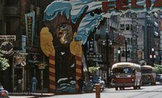 A decoração natalina de São Paulo em 1958 através de duas fotografias coloridas inéditas da época. Confira!