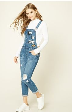 Stylish Jeans Overalls Models Shorts overalls and gardener overalls models we have compiled for you. Dresses For Teens, Trendy Dresses, Outfits For Teens, Casual Dresses, Teen Fashion Outfits, Stylish Outfits, Girl Fashion, Cool Outfits, Tween Fashion