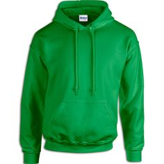 Green Fleece wear and Hoodies • $16.99 G18500: 7.75 oz., 50% cotton/50% polyester fleece.   • $19.99 G12500: Heavier 9.3 oz., 50% cotton/50% polyester fleece.   Both feature pill resistant Air Jet spun yarn. Two-ply hood with matching drawstring.