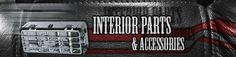 Chrome and stainless steel interior accessories to customize the inside of your semi truck cab!
