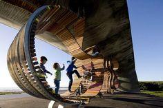 Imaginative Exclusive Public Space Longest Bench Concept
