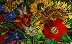 glass on glass mosaic - Google Search
