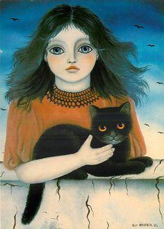 Cats are magical...the more you pet them the longer you both live.  Lokiandari