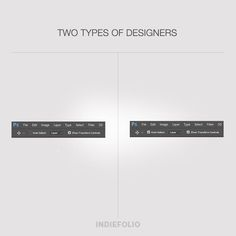 Keep it on or keep it off? #twotypesofdesigners #designers #peoplewhodesign