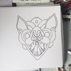 traditional bat tattoo - Google Search