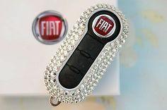 Genuine Fiat 500 Key Cover with SWAROVSKI®