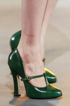 Green with envy....i wish these were in my closet.