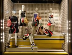 Prada windows 2014 Spring, London window display