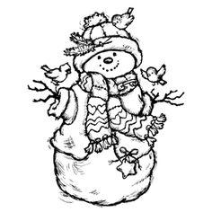 pen and ink santa clause | ... Art: Cross Hatching ...