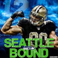 Congratulations Jimmy Graham....Good Luck With The Seattle Seahawks!!!
