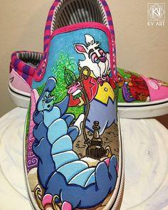 Vans Mickey mouse custom Slip on Pro Burnxhead Barber
