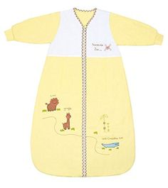 Winter Baby Sleeping Bag Long Sleeves approx. 3.5 Tog - Zoo - 6-18 months/35inch - $42.99