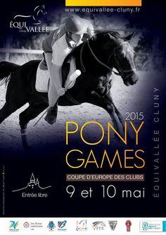 Coupe d'Europe des clubs de Pony games à Équivallée Cluny les 9 et 10 mai 2015.