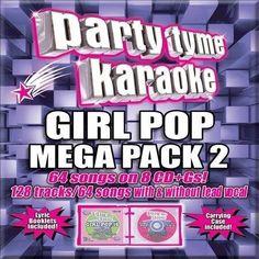 Party Tyme Karaoke - Girl Pop Mega Pack 2 [8 CD] [Box] by Karaoke CD, Aug-2012    eBay