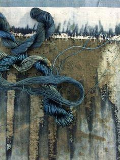 That Kind Of Woman · artpropelled: Helen Terry Textile Fiber Art, Textile Artists, Creation Art, Creative Textiles, Textiles Techniques, Painting Techniques, Fabric Manipulation, Fabric Art, Textures Patterns