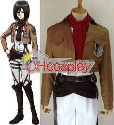 Attack On Titan Shingeki No Kyojin Annie Leonhart Suede Cosplay Costume Outfits
