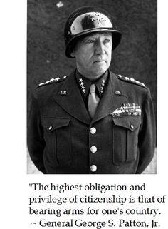 Gen. George S. Patton on Virtue