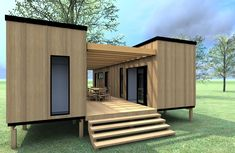Plans To Design And Build A Container Home - Cargo Container Home Plans In How Much Is Shipping Container House Plans Best Container House - Who Else Wants Simple Step-By-Step Plans To Design And Build A Container Home From Scratch? Cargo Container Homes, Shipping Container Home Designs, Building A Container Home, Storage Container Homes, Container Buildings, Shipping Containers, Container Home Plans, Container Pool, Container Architecture