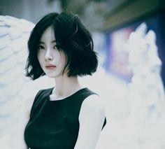 """題名未設定 (which in my mind translates to """"babe-hair"""")"""