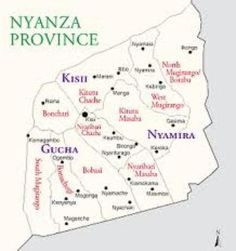"""A site_map that displays the location of our affiliate Ministry: """"The Bible Strudies Ministries Church"""" of Gucha, Kisii-Kenya - See: www.hebrews113evangelisticministriesinc.net for full_length Video."""