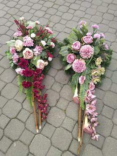 Funeral Arrangements, Flower Arrangements, Grave Flowers, Grave Decorations, Funeral Memorial, Floral Design, Blog, Floral Wreath, Wreaths