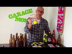 """Reusable Homebrew Beer Bottle Labels """"The Naked Truth""""   Drewski explains the sticky truth about labeling your homebrew beer bottles - Get 10% off any purchase at GarageMonk.com use code word """"ILOVEHOMEBREW2014"""" at purchase. Pass it on!  garagemonk.com"""