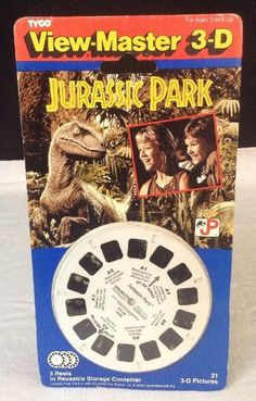 VIEW MASTER 1997 JURASSIC PARK 2 VINTAGE TYCO RARE 3D VIEWER NEW SEALED !