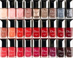 Dior's new Vernis Gel Shine nail polish in every gradation of color imaginable—24, to be exact—is the best reason to get a pedicure right now. Read on at Vogue.com.