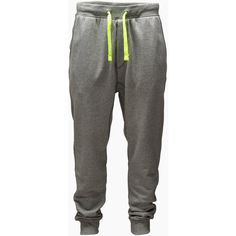 JACK & JONES Later Sweat Pants (35 CAD) ❤ liked on Polyvore featuring mens, men's clothing, men, pants, bottoms, guy and jeans