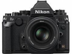 New Nikon Df Black SLR Digital Camera With lens kit