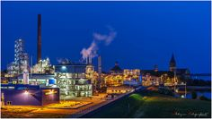 Emmericher Industrie @Blue Hour