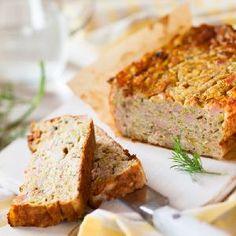 Pieczeń rzymska z indyka i cukinii: przepis na pyszny klops drobiowy Keto, Meatloaf, Banana Bread, Sandwiches, Brunch, Cooking, Healthy, Desserts, Quiches