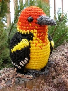Amigurumi Tweety Bird : 1000+ images about Crochet birds tweety~ on Pinterest ...